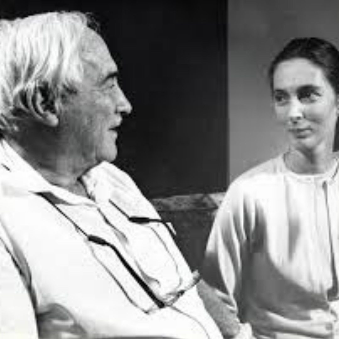 Jane Goodall and Louis Leakey (image by Louis Leakey Foundation)