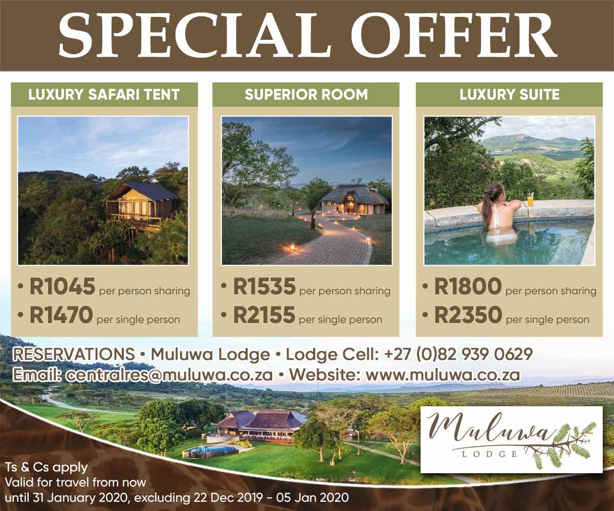 Muluwa Lodge Mpumalanga Travel special